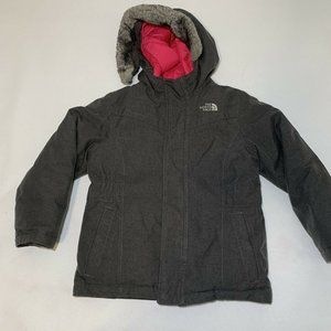 The North Face Girls 550 Hooded Winter Coat Size 6